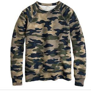 J Crew Camo Sweater